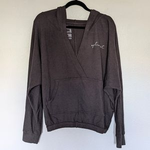 good hYOUman Sweatshirt Hoodie Gray Small
